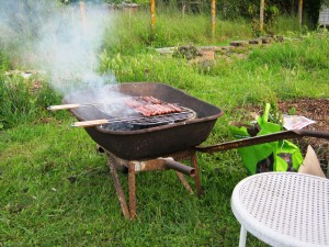 Brouette Barbecue